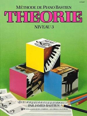 Méthode de Piano Bastien Théorie Niveau 3 / Bastien James / Kjos Music Co