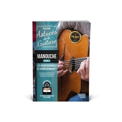 Collection Astuces / »Astuces» guitare manouche vol 2 avec fichiers audio /  / Editions Coup de pouce