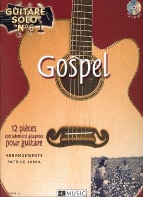 Guitare solo no 6: Gospel /  / Henry Lemoine