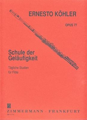 Schule der Geläufigkeit op. 77 / Köhler Ernesto / Zimmermann