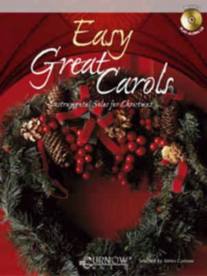 Easy Great Carols Instrumental Solos for Christmas   Alto Saxophone Buch + CD Lehrhilfsmittel CMP 0922-04-400 /  / Curnow Music Press