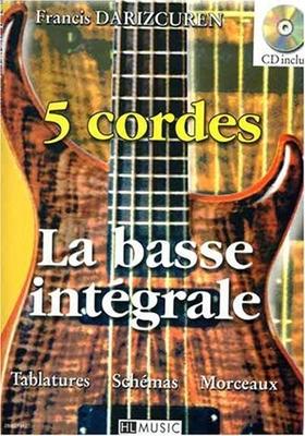 La basse intégrale, 5 cordes / Darizcuren Francis / Henry Lemoine