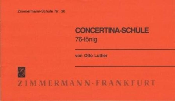 Concertina-Schule 76-tönig / Luther Otto / Zimmermann