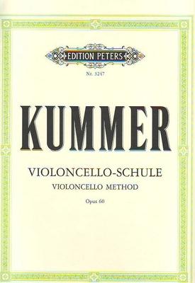 Violoncelloschule Op.60   Kummer  Cello Buch  EP3247 / Kummer F.A. / Peters