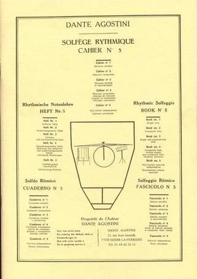 Solfège Rythmique vol. 5 / Agostini Dante / Agostini