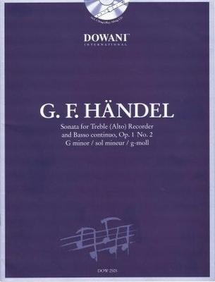 3 Tempi play along / Sonate en sol mineur op. 1 no 2 / Händel Georg Friedrich / Dowani