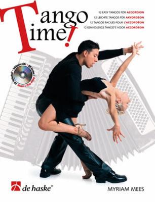 Tango Time 12 easy tangos for accordion Myriam Mees  Accordion Buch + CD Latin 1043558 / Mees Myriam / De Haske