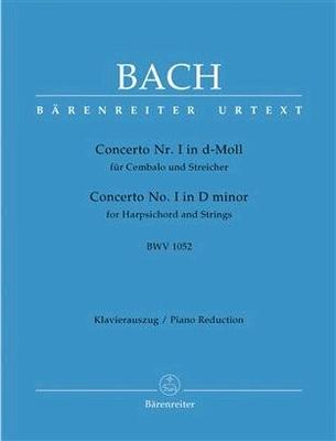 Concerto en ré mineur BWV 1052 / Bach Jean Sébastien / Bärenreiter