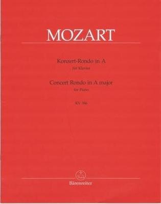 Rondo de concert KV 386 / Mozart Wolfgang Amadeus / Bärenreiter