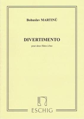 Divertimento / Martinu Bohuslav / Eschig