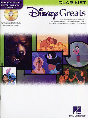Instrumental Play-Along / Disney Greats: Clarinet /  / Hal Leonard