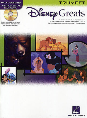 Instrumental Play-Along / Disney Greats: Trumpet /  / Hal Leonard