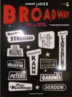 Legendary Ladies Of Broadway: 1960's To The 1970's / Nicholls, Stewart (Author) / I.M.P.