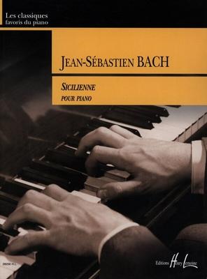 Sicilienne en ré mineur BWV 596 (d'après Vivaldi) / Bach Jean Sébastien / Henry Lemoine
