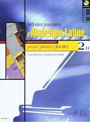 Mélodies populaires d'Amérique Latine, vol. 2D /  / Henry Lemoine