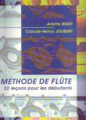 Méthode de flûte vol. 1 / Joubert C.H./Biget A. / Combre
