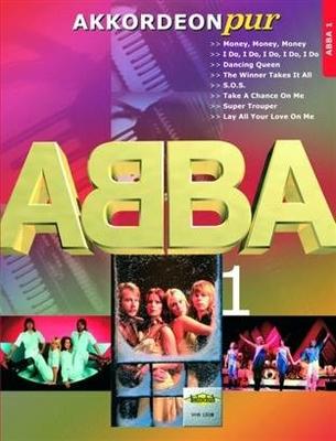 Akkordeon Pur Vol.1 ABBA Accordéon avec accords / Abba / Holzschuh