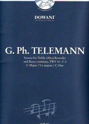 3 Tempi play along / Sonate en do majeur TWV 41:C2 / Telemann Georg Philip / Dowani