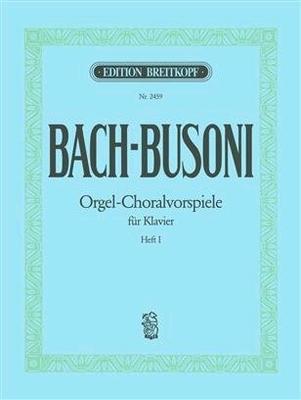 Orgel-Choralvorspiele vol. 1Choral Preludes Book 1 For Piano / Bach Jean Sébastien / Breitkopf