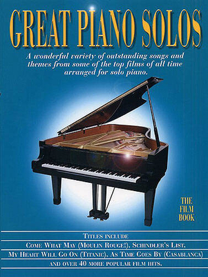 Great piano solos / Great Piano Solos – Film Book /  / Wise Publications