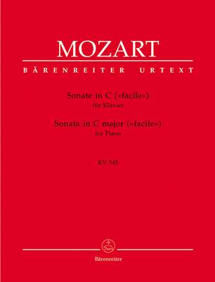Sonate In C-Dur 'Facile' Für Klavier  Wolfgang Amadeus Mozart  Bärenreiter-Verlag / Mozart Wolfgang Amadeus / Bärenreiter