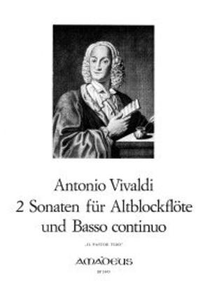 2 sonates du 'Pastor Fido' op. 13 Nr. 2 und 6 / Vivaldi Antonio / Amadeus