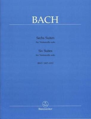 Six suites pour violoncelle seul BWV 1007-1012 J:S: Bach / Bach Jean Sébastien / Bärenreiter