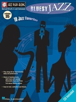 Jazz play along / Jazz Play Along Volume 35: Bluesy Jazz /  / Hal Leonard