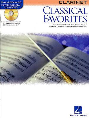 Instrumental Play-Along / Classical Favourites: Clarinet /  / Hal Leonard