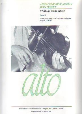 L'ABC du jeune altiste, vol. 1 / Auvray A.G./Lenert J. / Billaudot