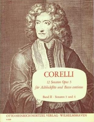 12 sonates op. 5, vol. 2 (sonates 3 & 4) / Corelli Arcangelo / Noetzel