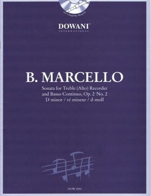 3 Tempi play along / Sonate en ré mineur op. 2 no 2 / Marcello Benedetto / Dowani