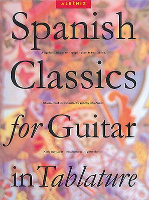 Spanish Classics For Guitar In Tablature / Albeniz, Isaac (Artist) / Music Sales