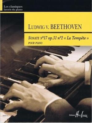 Sonate no 17 op. 31 no 2 'La tempête' / Beethoven Ludwig van / Henry Lemoine
