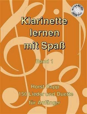 Klarinette lernen mi Spa vol. 1 / Rapp Horst / Rapp-Verlag