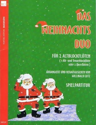 Das Weihnachts Duo Lutz Willibald /  / Noetzel
