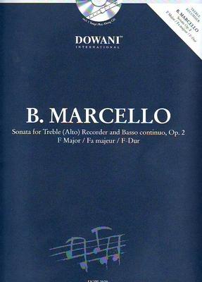 3 Tempi play along / Sonate en fa majeur op. 2 / Marcello Benedetto / Dowani