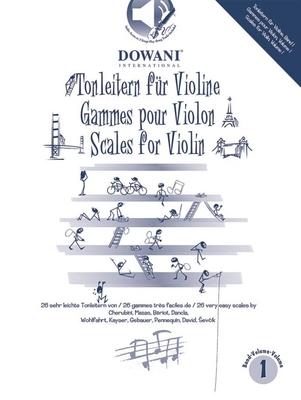 Tonleitern / Tonleitern / Scales / Gammes Vol. I / Leyvraz P./ Sarnau F. / Dowani
