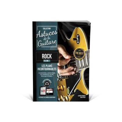Collection Astuces / »Astuces» guitare rock avec fichiers audio /  / Editions Coup de pouce