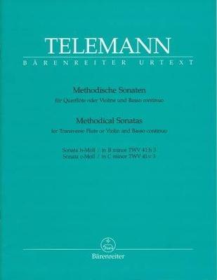 2 sonates méthodiques TWV 41, vol. 4 / Telemann Georg Philip / Bärenreiter