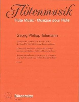 2 sonates méthodiques TWV 41, vol. 5 / Telemann Georg Philip / Bärenreiter