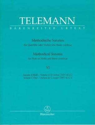 2 sonates méthodiques TWV 41, vol. 6 / Telemann Georg Philip / Bärenreiter