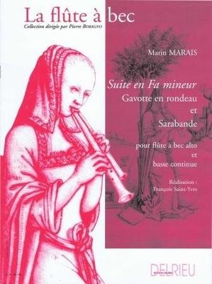 Suite en fa mineur / Marais Marin / Delrieu