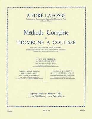 Methode 1   Lafosse  Trombone BC / Lafosse André / Leduc