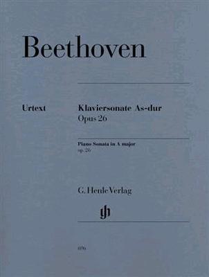 Sonate en lab majeur op. 26 HN 892 édition révisée de HN 696 / Beethoven Ludwig van / Henle
