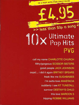 4.95, 10 Ultimate Pop Hits /  / Wise Publications