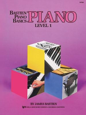 Méthode De Piano Bastien LEVEL 1 (Version Anglaise) / Bastien James / Kjos Music Co