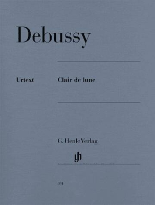 Clair de lune / Debussy Claude Achille / Henle