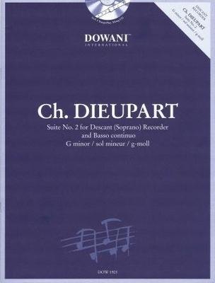 Suite no 2 en sol mineur / Dieupart Charles / Dowani