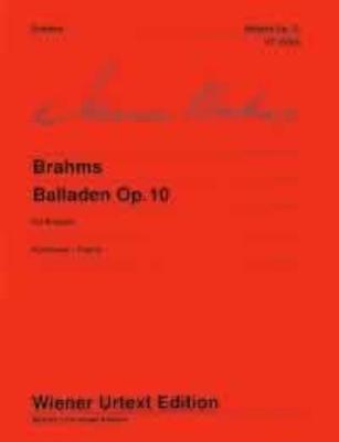Wiener Urtext Edition / Ballades Op. 10 / Brahms Johannes / Wiener Urtext